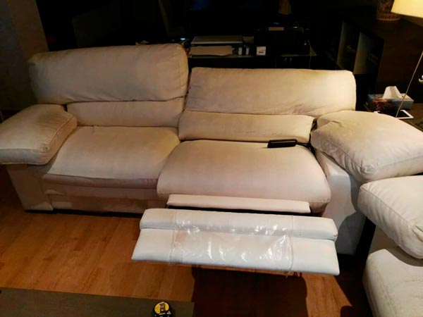 Sofa electrico