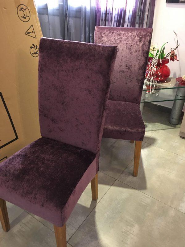 Sillas tapicer a icardi for Sillas comedor respaldo bajo